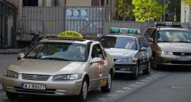 Taksówkarze szykują się na protest - jeden z punktów zbiórki przy Białołęce