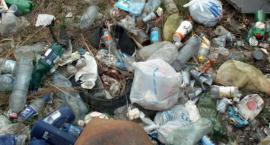 Dzikie wysypiska śmieci na Białołęce - interwencja