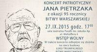Koncert patriotyczny z okazji 95. rocznicy Bitwy Warszawskiej