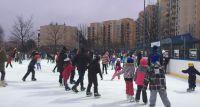 Na Białołęce sezon łyżwiarski w pełni