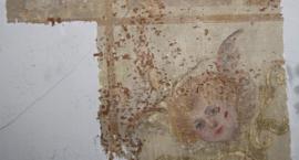 Zabytek sztuki malarskiej przy Modlińskiej 257