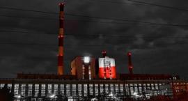 Znak Polski Walczącej na budynku Elektrociepłowni Żerań
