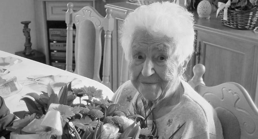 Postaci, Zmarła najstarsza wąbrzeźnianka - zdjęcie, fotografia