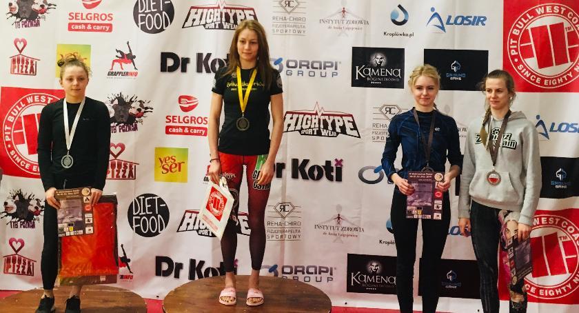 Sztuki walki, Kolejne medale Gracie Barra Wąbrzeźno - zdjęcie, fotografia