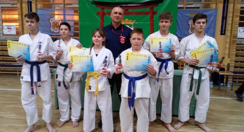 Sztuki walki, Sukcesy wąbrzeskich karateków - zdjęcie, fotografia