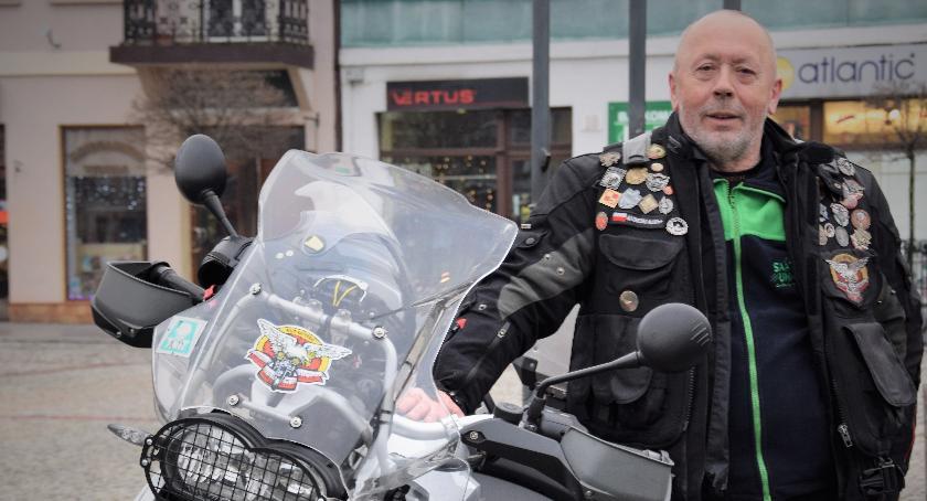 Stowarzyszenia i organizacje, Motocykliści szanują lokalny patriotyzm - zdjęcie, fotografia