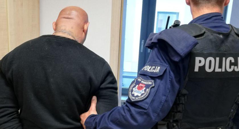 Kronika kryminalna, Rozbójnik ukradł sklepie - zdjęcie, fotografia
