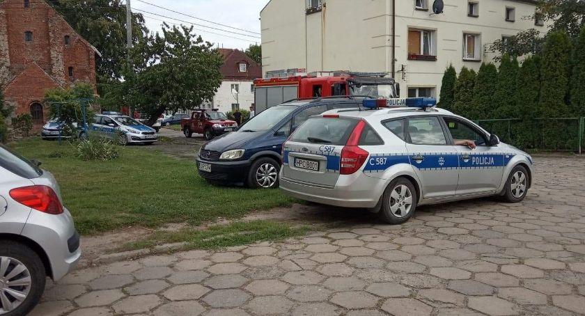 """Kronika kryminalna, """"Bomba"""" Wroniu - zdjęcie, fotografia"""