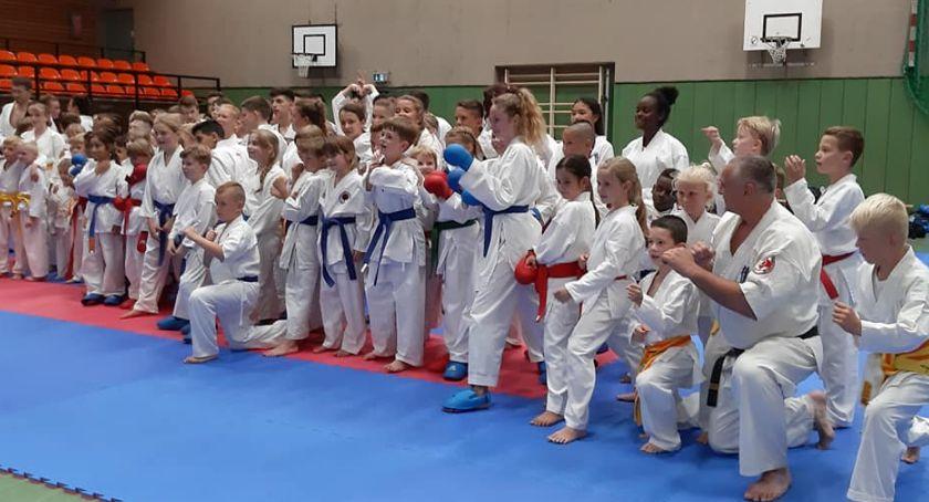 Sztuki walki, Wąbrzescy karatecy - zdjęcie, fotografia