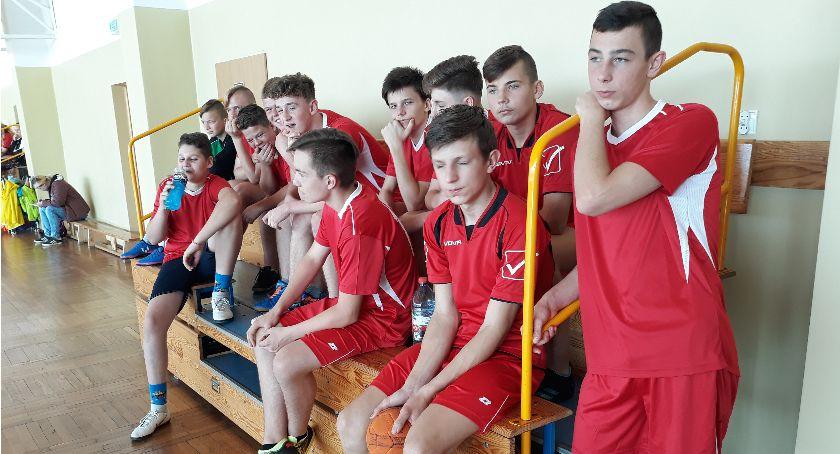 Piłka ręczna, Igrzyska młodzieży szkolnej powiatu - zdjęcie, fotografia
