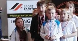 Najmłodsi z medalami