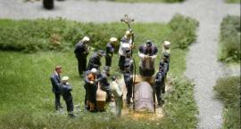 Afera na pogrzebie w Kiełbasinie