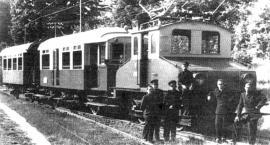 Pierwsza kolejka elektryczna w Wąbrzeźnie