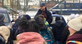 Uczniowie z Jarantowic na komendzie