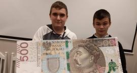 Uczyli się o pieniądzach