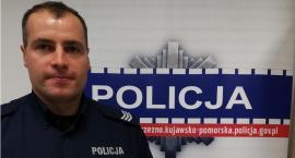 Ten policjant to wzór