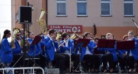 Orkiestry dęte koncertowały na rynku