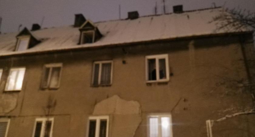 Pożary, Pożar budynku mieszkalnym! - zdjęcie, fotografia