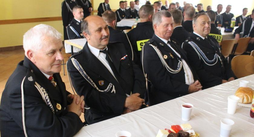 Stowarzyszenia i organizacje, Wielki dzień strażaków gminy Rogowo - zdjęcie, fotografia