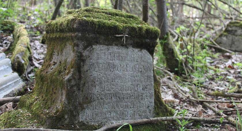 Interwencje, Radny walczy zapomniany cmentarz - zdjęcie, fotografia