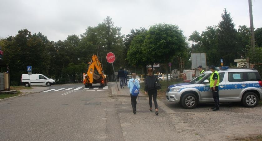 Komunikaty i profilaktyka, Bezpieczna droga szkoły - zdjęcie, fotografia