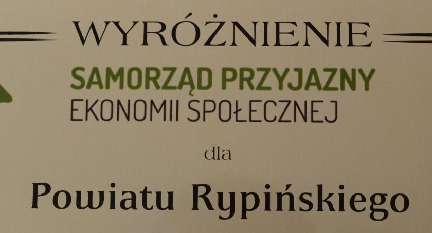 Samorząd powiatowy, Wyróżnienie powiatu rypińskiego - zdjęcie, fotografia