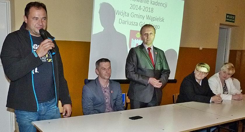 Urzędy, Wójt Dariusz Górski walczy kolejną kadencję - zdjęcie, fotografia