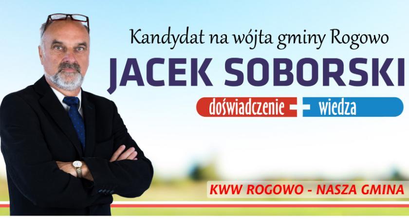 Samorząd gminny, Jacek Soborski gwarantuje rozwój gminy - zdjęcie, fotografia