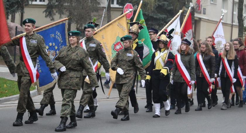 Wydarzenia lokalne, Świętowali niepodległość Rypinie - zdjęcie, fotografia
