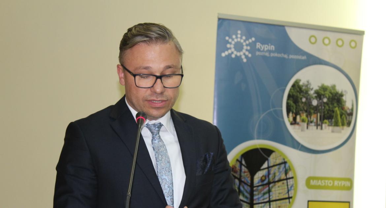 Samorząd powiatowy, Jarosław Sochacki nowym starostą powiatu rypinskiego - zdjęcie, fotografia