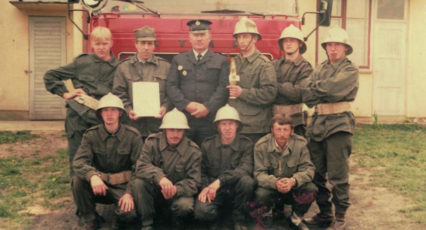 Postaci, dziejów Ochotniczych Straży Pożarnych powiatu rypińskiego Giżynku - zdjęcie, fotografia