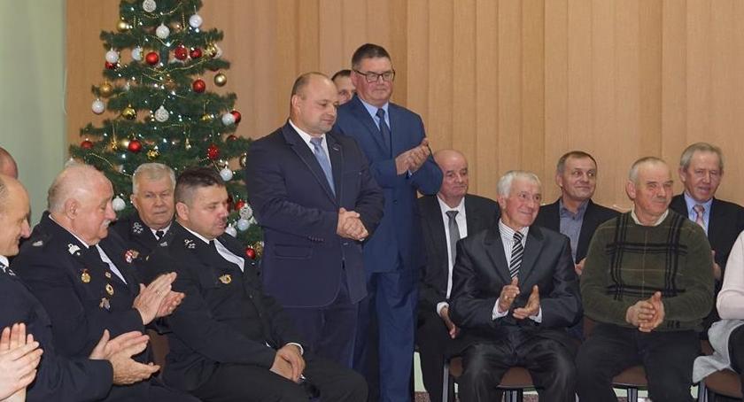 Wydarzenia lokalne, Spotkanie wigilijne Rogowie - zdjęcie, fotografia