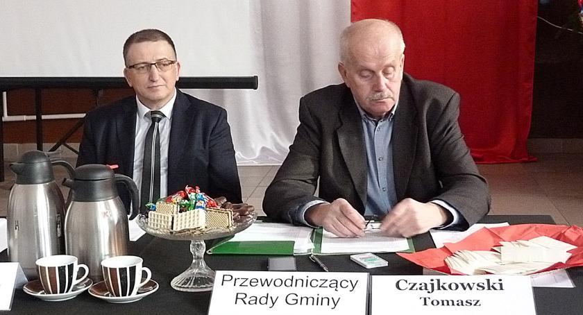 Samorząd gminny, drogami gminie Wąpielsk - zdjęcie, fotografia