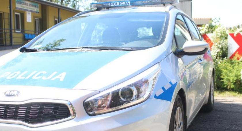 Kronika kryminalna, Młody kierowca spowodował kolizję Miał promile - zdjęcie, fotografia