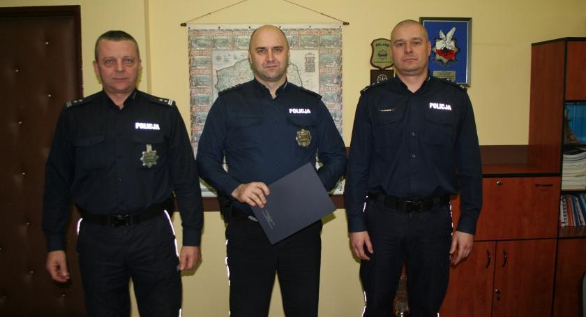 Komunikaty i profilaktyka, mundurze Krzysztofa Kulwickiego - zdjęcie, fotografia