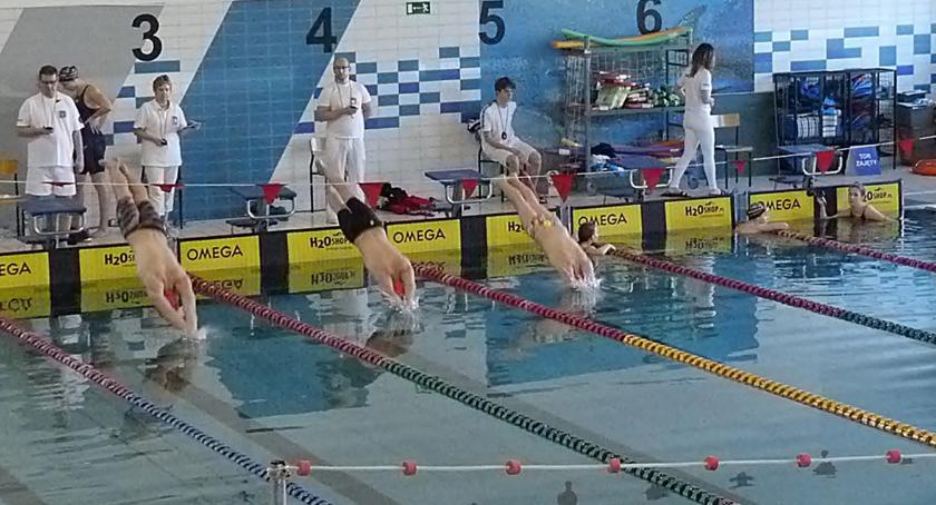 Sporty wodne, Działo basenie - zdjęcie, fotografia
