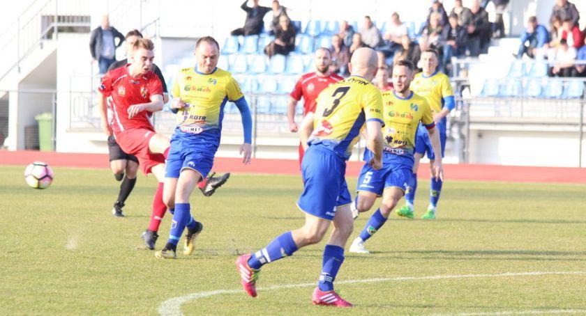 Piłka nożna, Pierwszy punkt Lecha - zdjęcie, fotografia