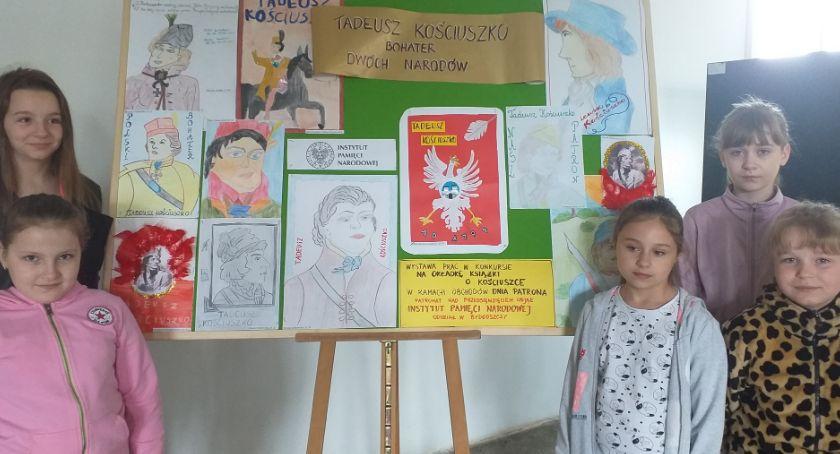 Edukacja, Uczcili swojego patrona - zdjęcie, fotografia