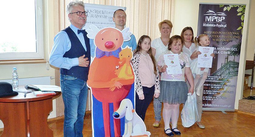 Biblioteki, Spotkanie Wojciechem Widłakiem bibliotece - zdjęcie, fotografia