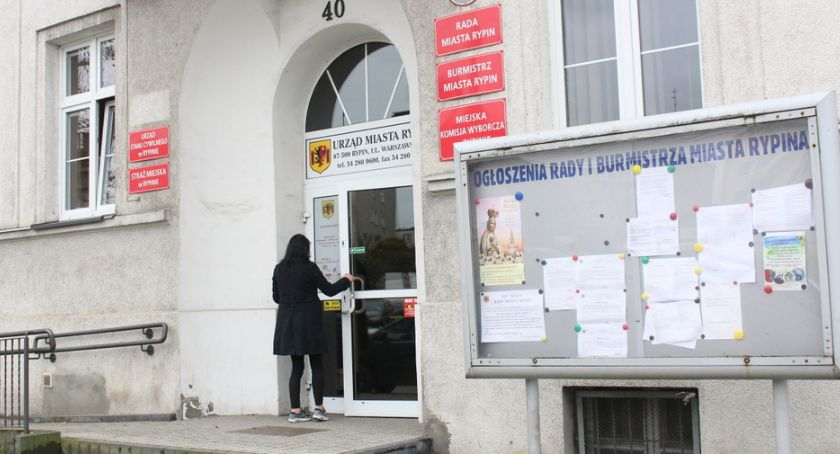 Samorząd gminny, pójdzie publiczna - zdjęcie, fotografia