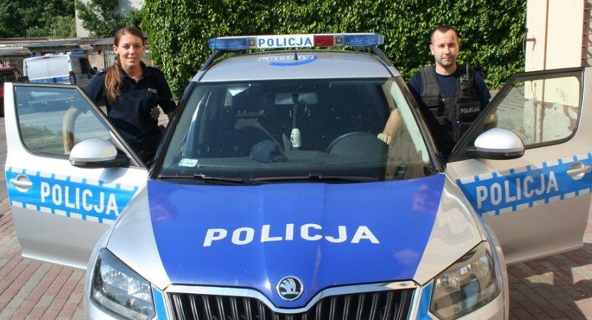 Komunikaty i profilaktyka, Policjanci uratowali desperata - zdjęcie, fotografia