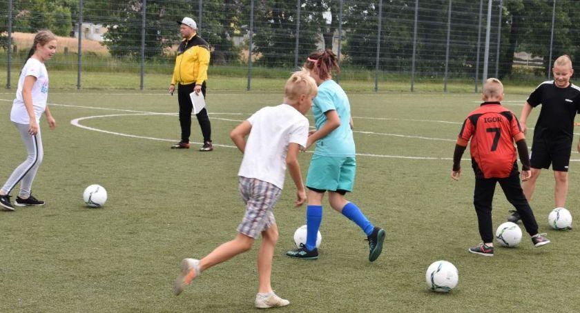 Piłka nożna, Piłkarskie wakacje - zdjęcie, fotografia
