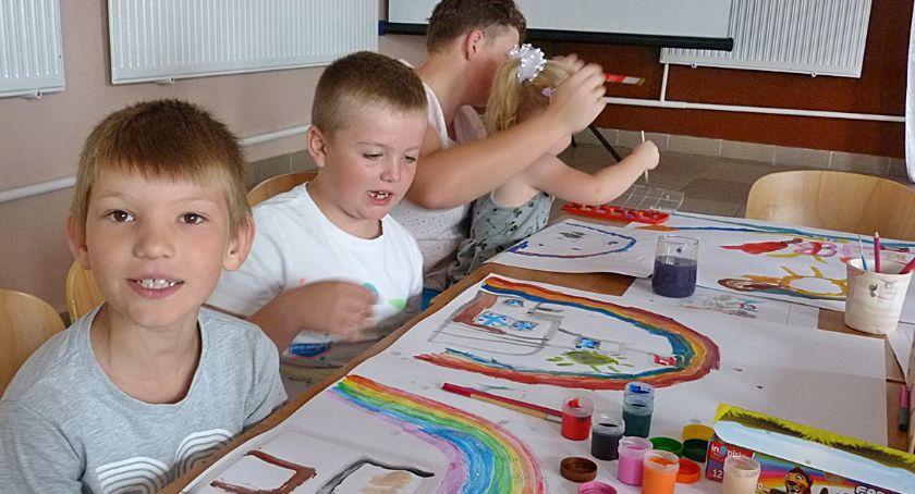 Wydarzenia lokalne, Letnie zajęcia dzieci - zdjęcie, fotografia