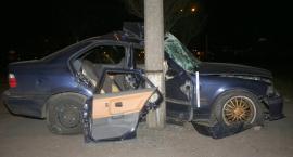 Pijany rozbił BMW i zostawił rannego