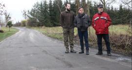Mieszkańcy Rudy domagają się naprawy drogi