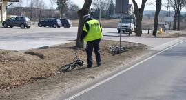 Ciężarówka potrąciła rowerzystę