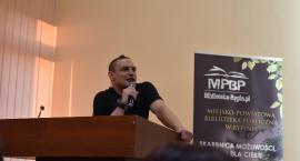 Adam Bielecki odwiedził Rypin