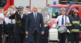Minister Brudziński  świętował ze strażakami