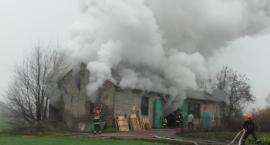 Pożar w Rusinowie, 7 zastępów w akcji
