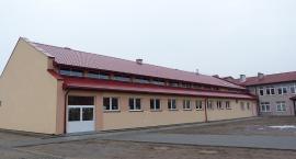 Nowa sala gimnastyczna  w Okalewie